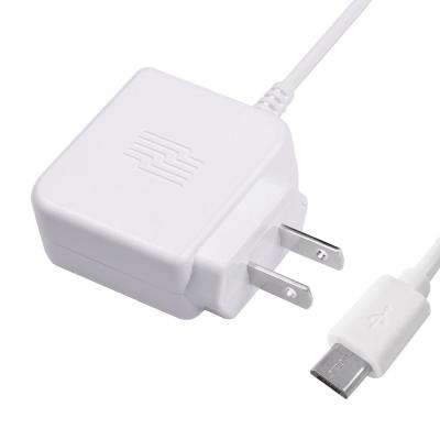3 ft. Micro USB Phone Wall Charger, White