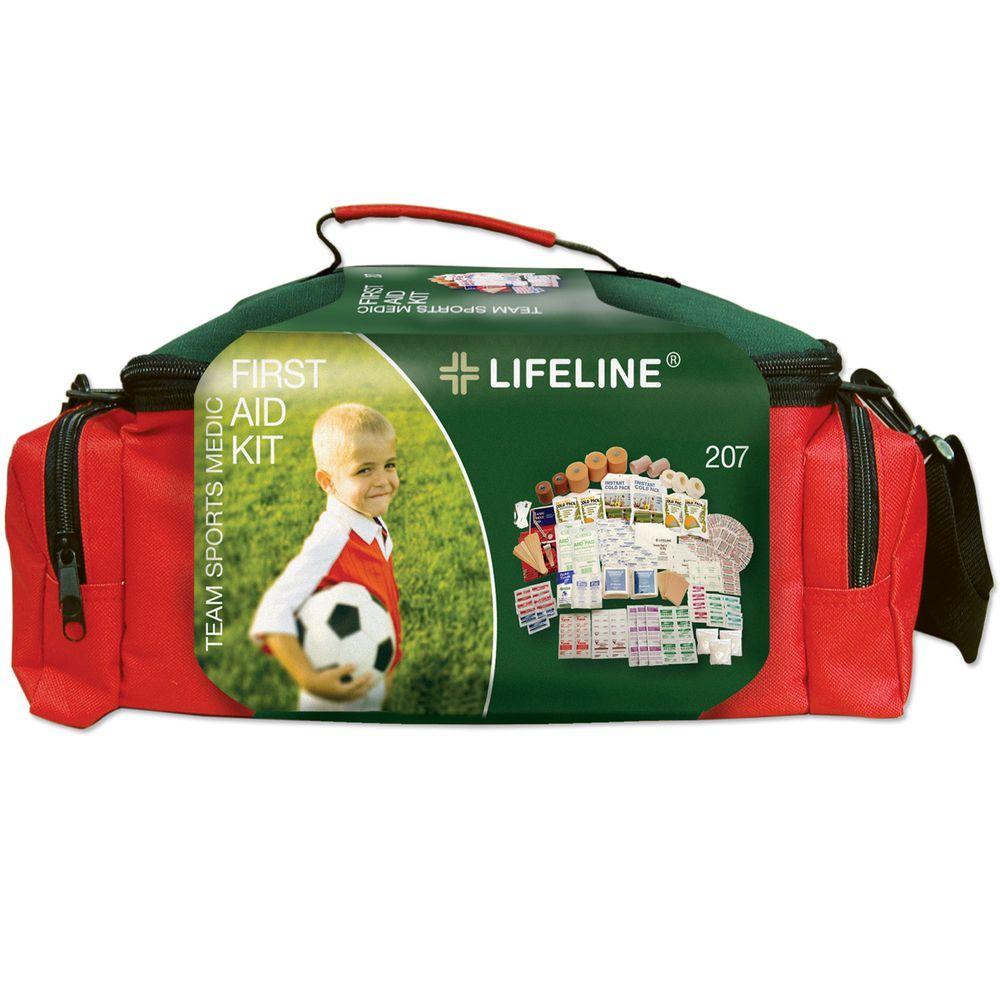 Lifeline 135-Piece Team Sports Medic First Aid Kit