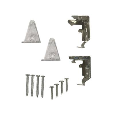 Cordless Cellular Light Filtering and Blackout Shade Replacement Bracket Set