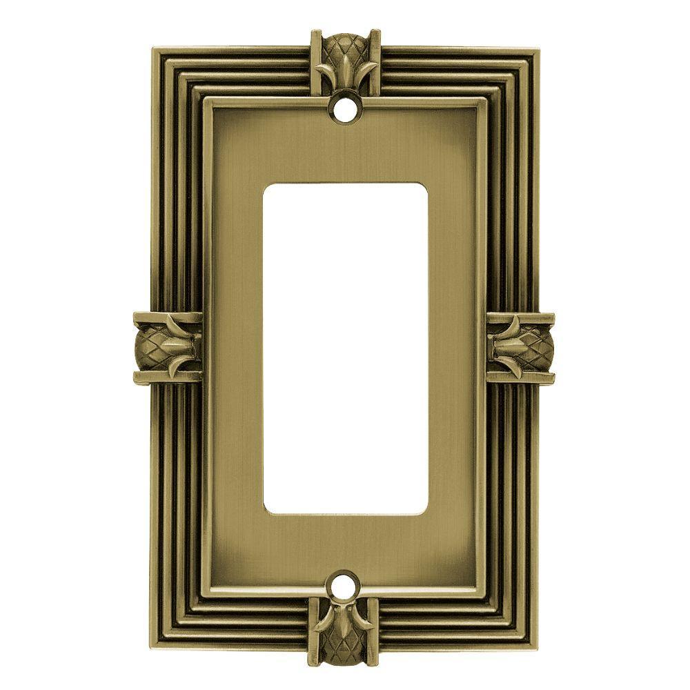 Liberty - Brass - Decorator/Rocker - Switch Plates - Wall