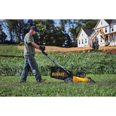 20 in. 20-Volt MAX Lithium-Ion Cordless Walk Behind Push Lawn Mower w/ (2) 5.0 Ah Batteries and Charger