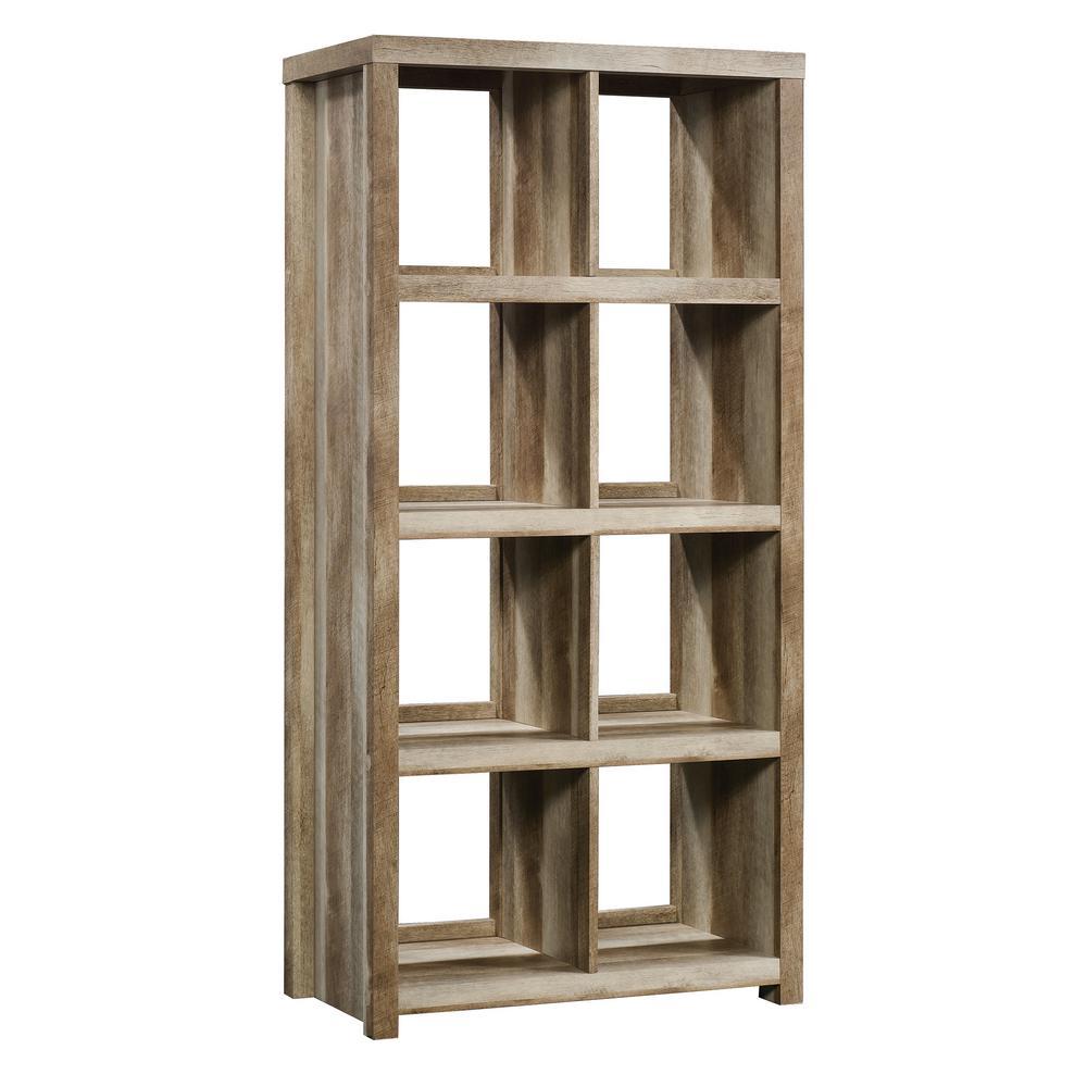 HomeVisions Lintel Oak 8-Cube Bookcase