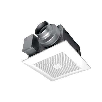 WhisperGreen Select 50/80/110 CFM Ceiling Exhaust Bath Fan with Multi Speed Time Delay, ENERGY STAR
