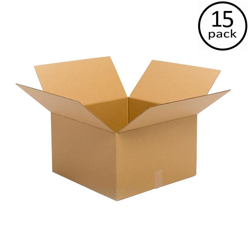 20 in. L x 20 in. W x 12 in. D Moving Box (15-Pack)