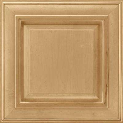 14-9/16 in. x 14-1/2 in. Cabinet Door Sample in Savannah Maple Rye