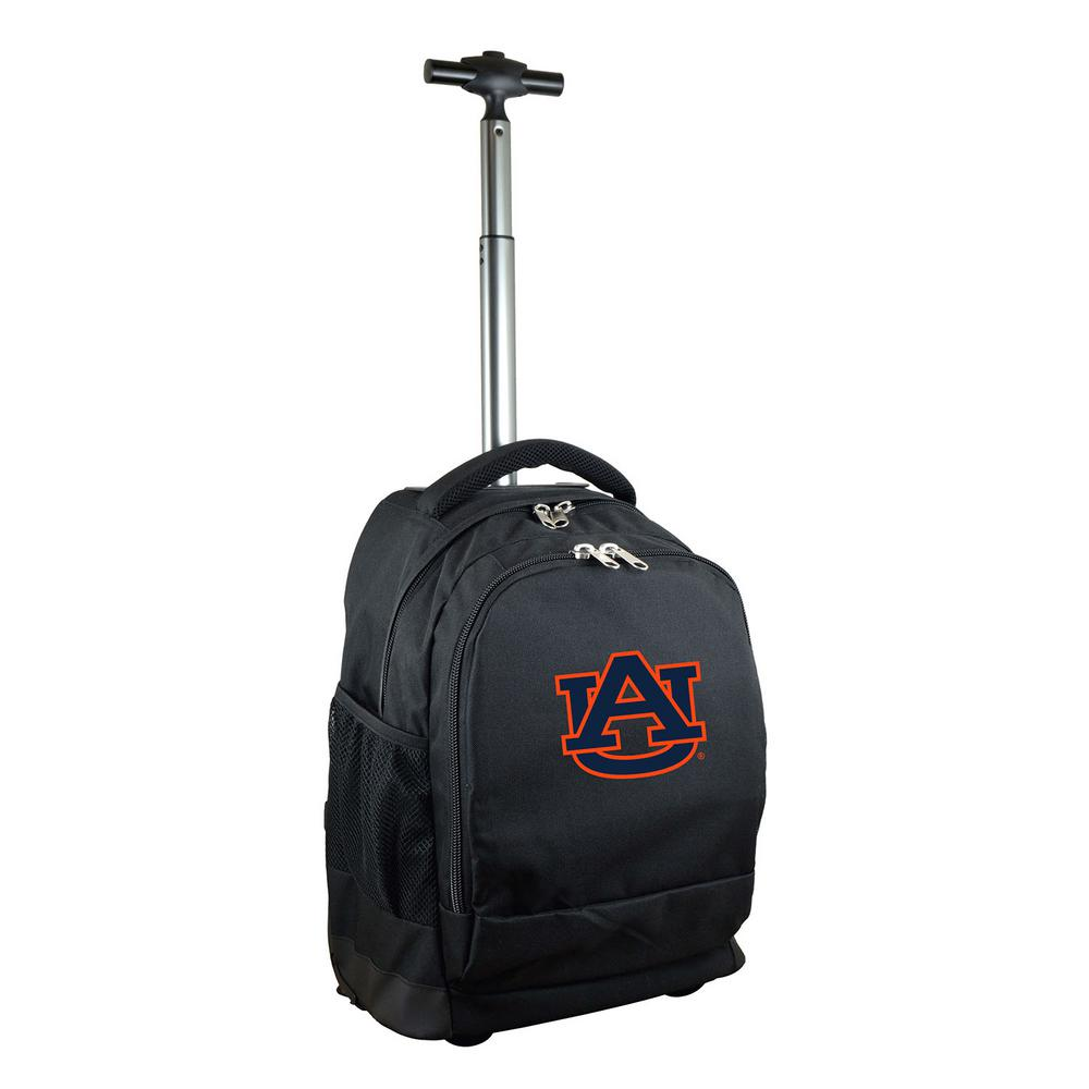 NCAA Auburn 19 in. Black Wheeled Premium Backpack