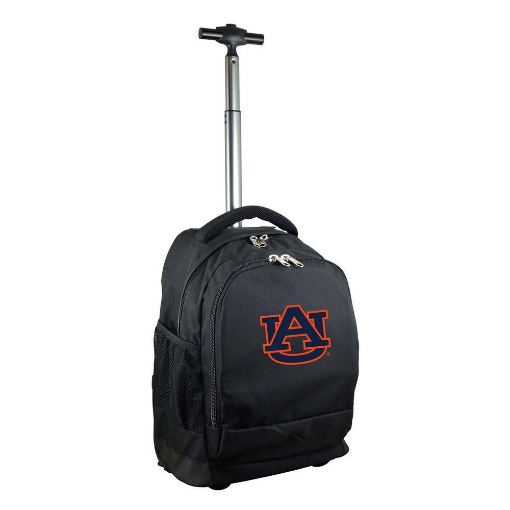 NCAA Auburn 19 in. Black Wheeled Premium Backpack