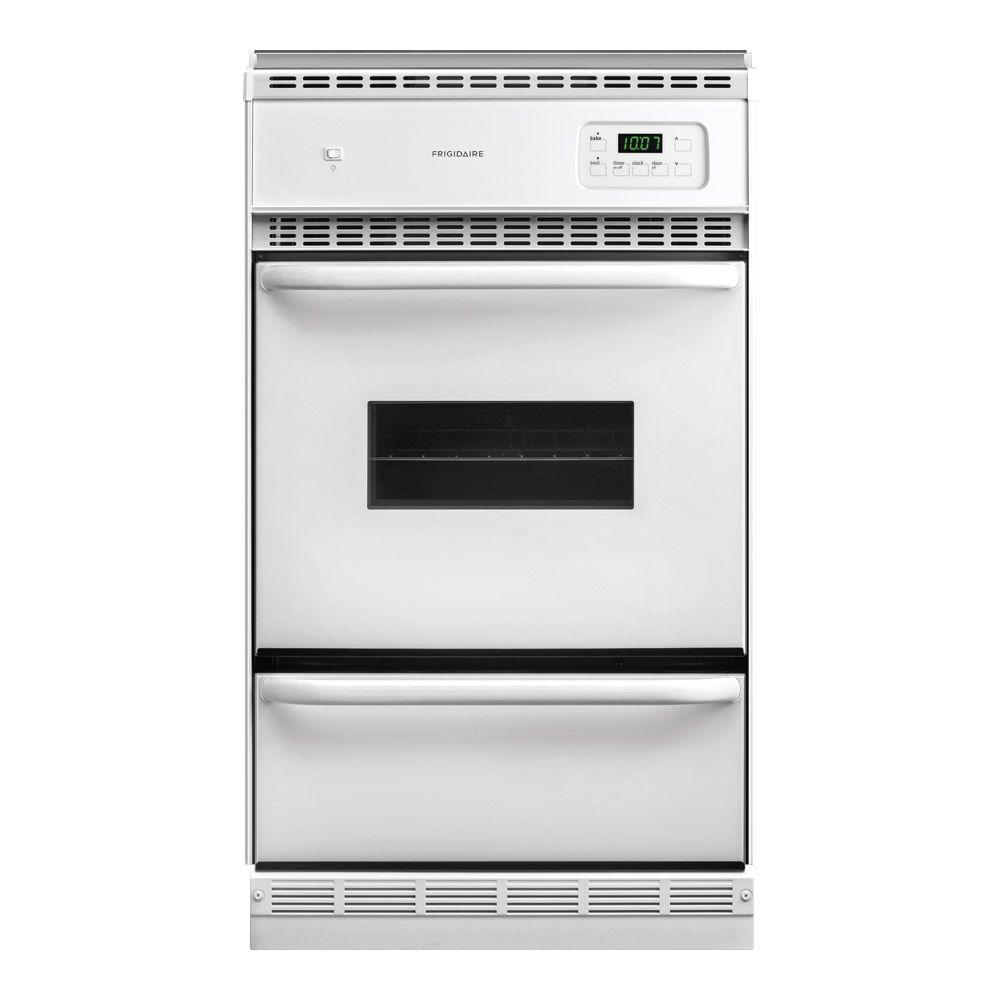 Frigidaire 24 in. Single Gas Wall Oven in White
