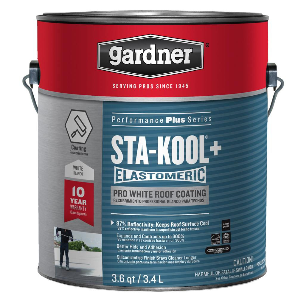 3.6 qt. Sta-Kool+ Pro White Roof Coating