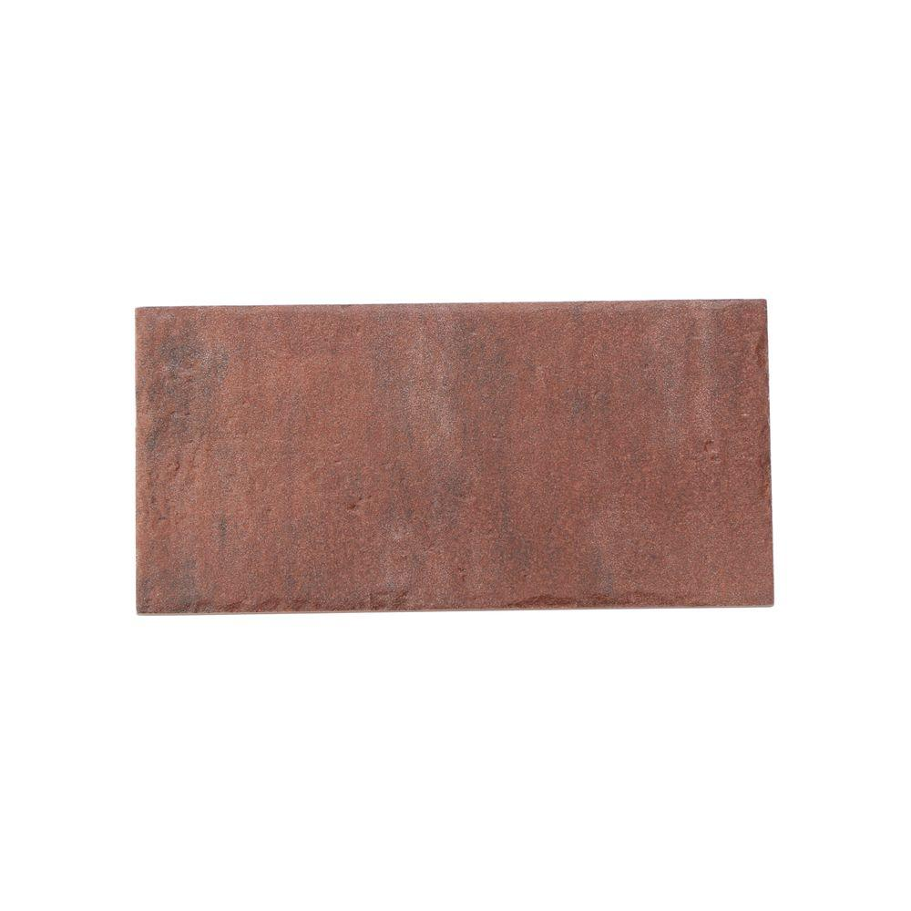 Daltile Union Square Courtyard Red 4 in. x 8 in. Ceramic Paver Floor and Wall Tile (8 sq. ft. / case)