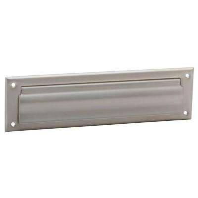 Satin Nickel Mail Slot