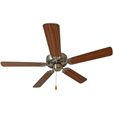 Basic-Max 52 in. Walnut/Pecan Blades Ceiling Fan