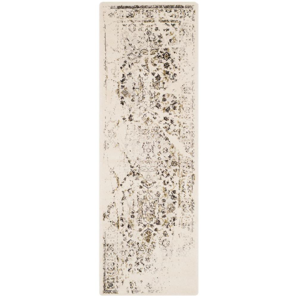 Safavieh Porcello Ivory Light Grey 2 Ft 4 In X 6 Ft 7