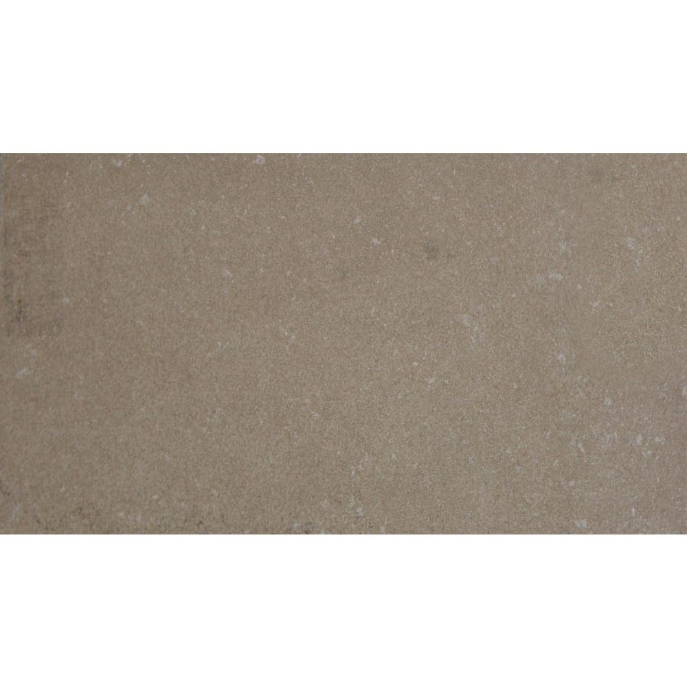 MS International Beton Olive 12 in. x 24 in. Glazed Porcelain Floor and Wall Tile (16 sq. ft. / case)