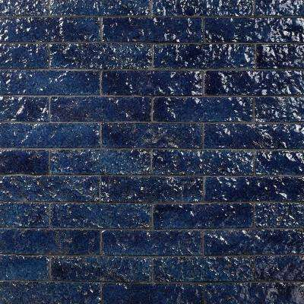 Weston Temp Dark Denim 2 in. x 8 in. 14mm Glazed Clay Subway Wall Tile (40-piece 4.78 sq. ft. / box)