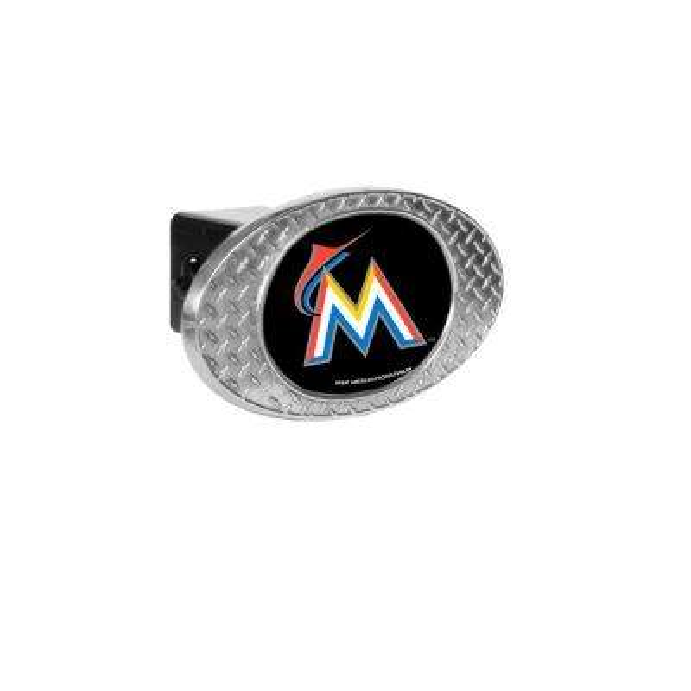 MLB Marlins Oval Skid Hitch