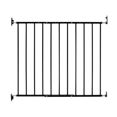 Safeway 30.5 in. H Hardware Mount Gate in Black