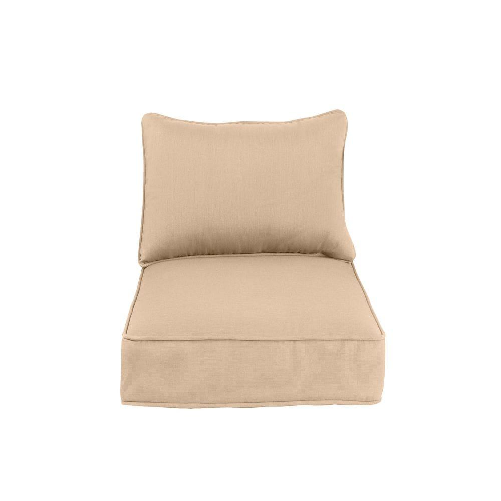 Greystone Replacement Outdoor Dining Chair Cushion in Harvest