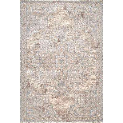 Traditional Joanna Beige 8 ft. x 10 ft. 3 in. Area Rug