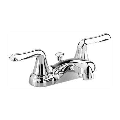 Colony Soft 4 in. Centerset 2-Handle Low-Arc Bathroom Faucet in Polished Chrome