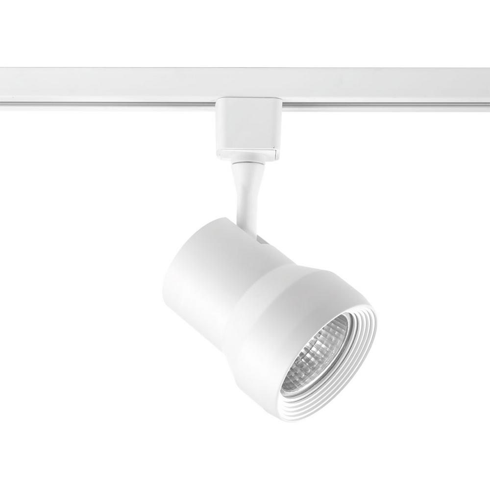 Progress Lighting Led Track Collection White Integrated Head
