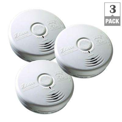 Worry Free 10-Year Battery Operated Combination Smoke and CO Alarm (Bundle of 3)
