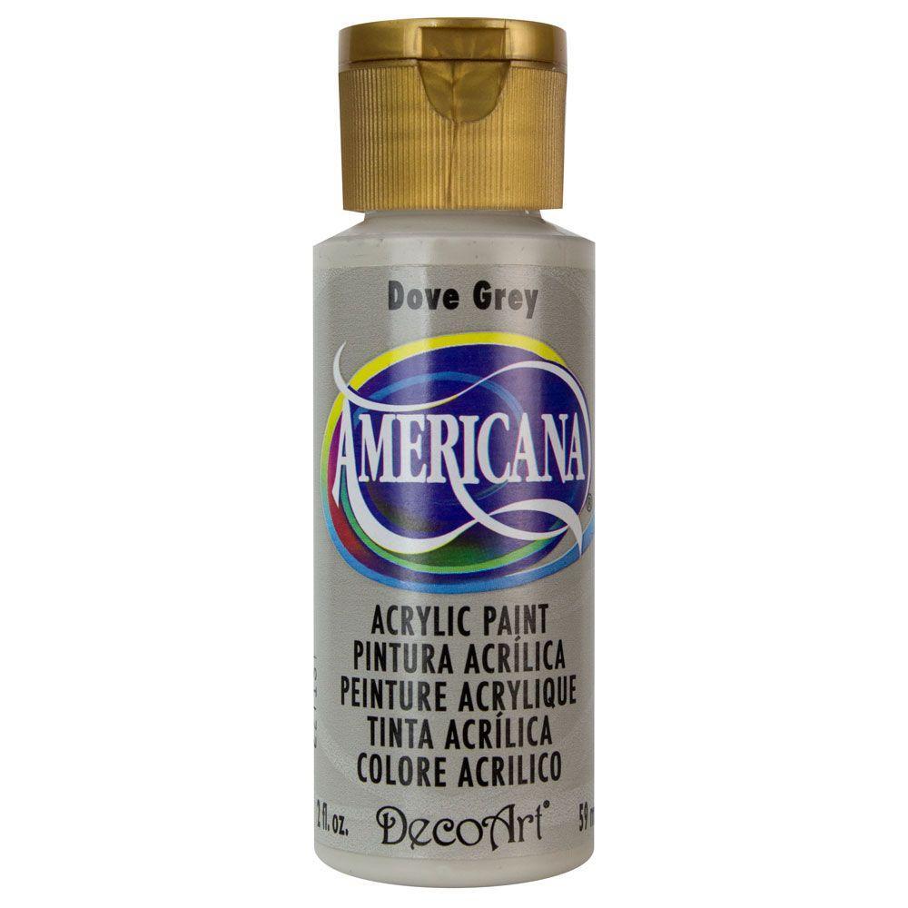 Americana 2 oz. Dove Grey Acrylic Paint