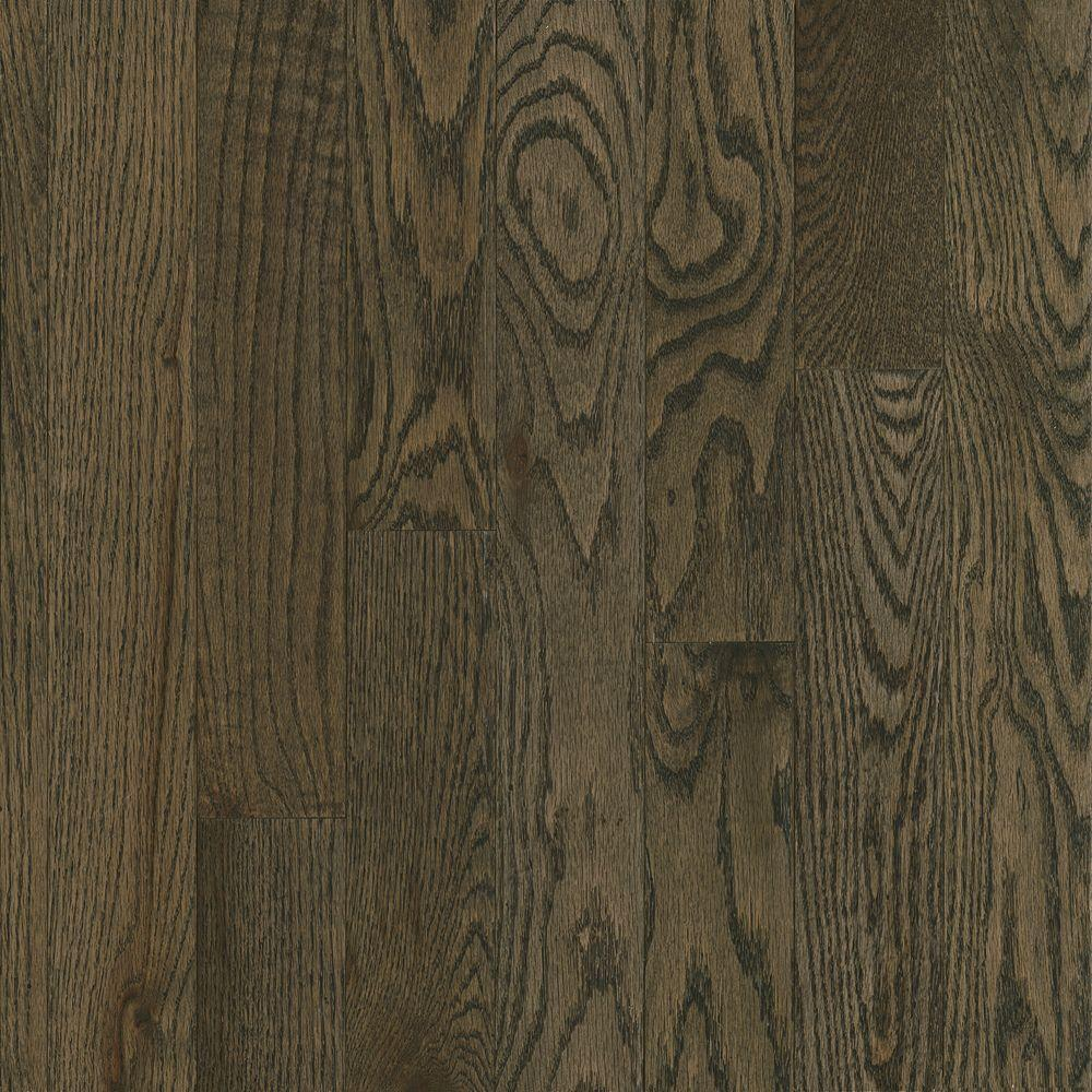 Bruce Plano Marsh Oak 3 4 In Thick X 2 1 Wide Random Length Solid Hardwood Flooring 20 Sq Ft Case C134 The Home Depot