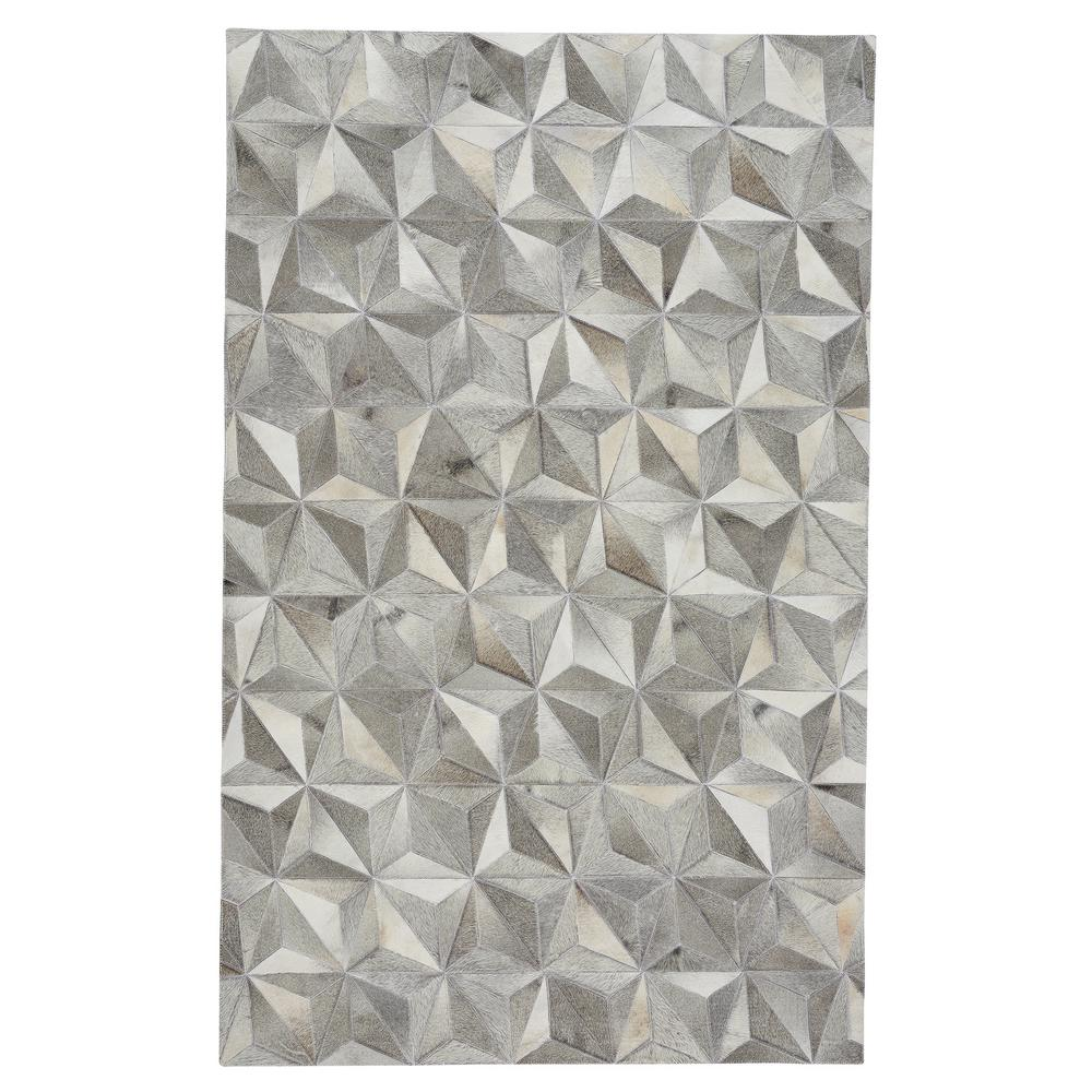 Capel Butte Diamond Ash 5 ft. x 8 ft. Area Rug, Grey Capel Butte Diamond Ash 5 ft. x 8 ft. Area Rug, Grey