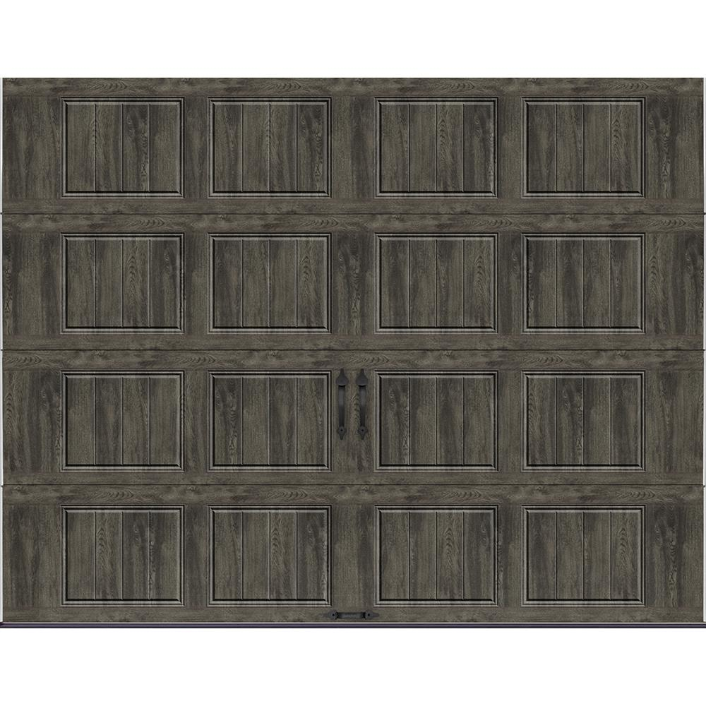 Clopay Gallery Collection 9 Ft X 7 6 5 R Value Insulated Solid