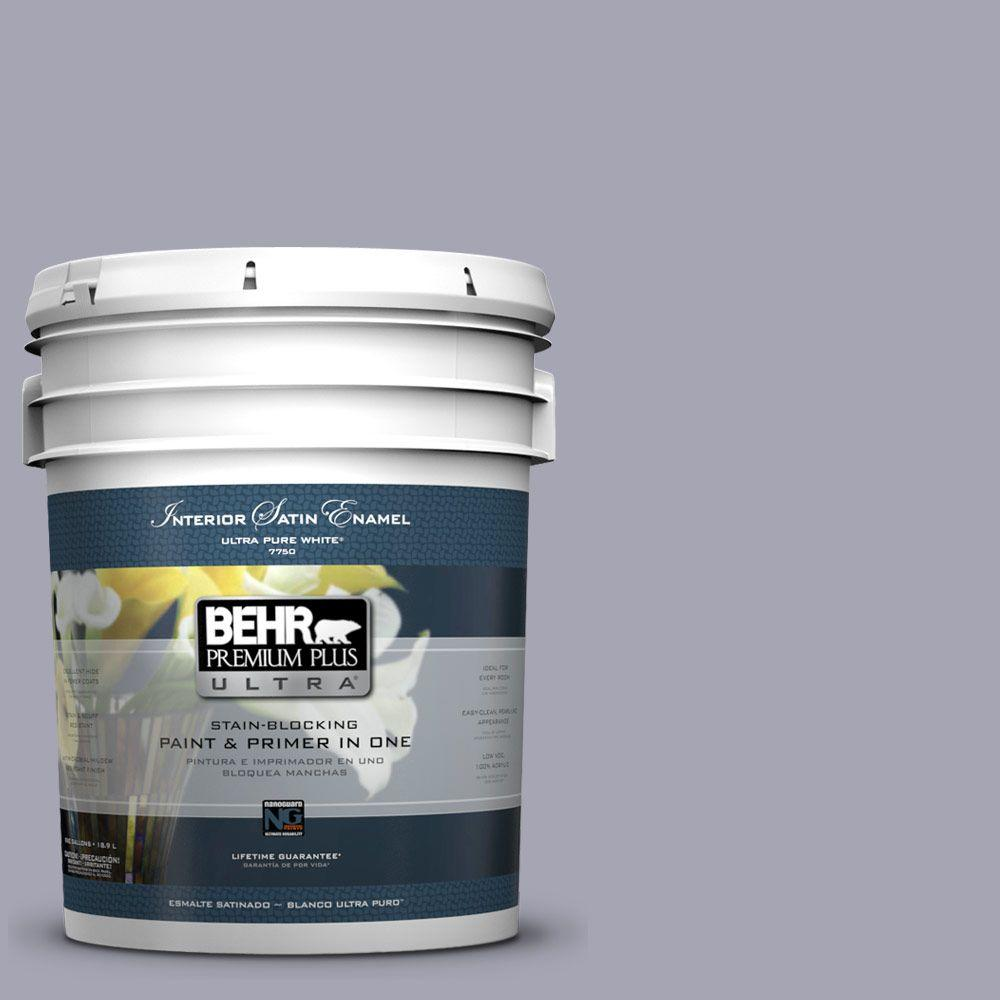 BEHR Premium Plus Ultra 5-gal. #T12-3 Canyon Sunset Satin Enamel Interior Paint