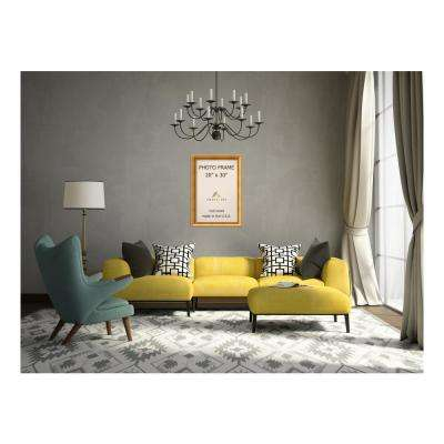 Townhouse 20 in. x 30 in. Gold Picture Frame