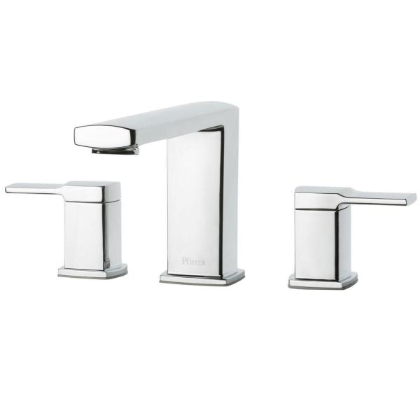 Pfister Deckard 2-Handle Deck-Mount Roman Tub Faucet Trim Kit in Polished Chrome