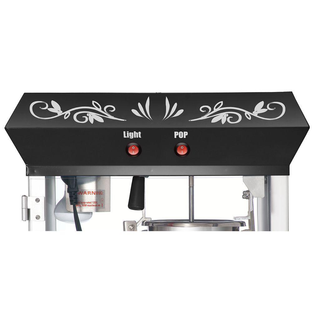 Great Northern-Foundation 4 oz. Black Countertop Popcorn Machine