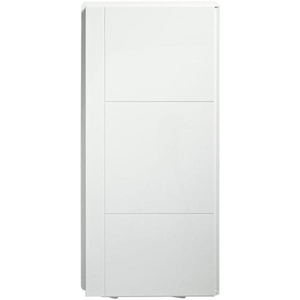 Accord 36 in. x 36 in. x 77 in. 2-Piece Direct-to-Stud Shower End Wall Set in White