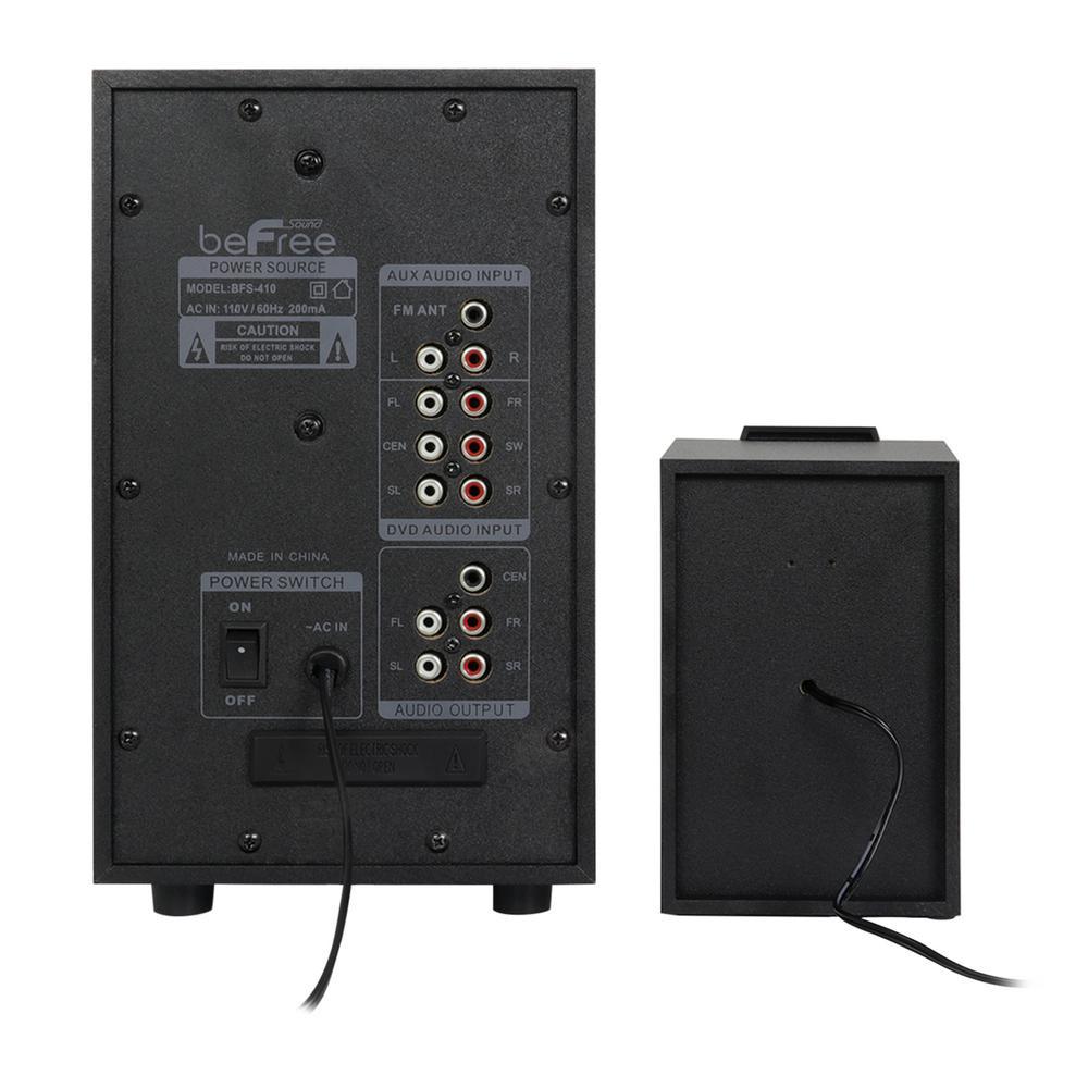 BEFREE SOUND 9.9-Channel Surround Sound Bluetooth Speaker System
