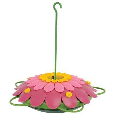 Pink-So Real 3D Single Flower Hummingbird Feeder