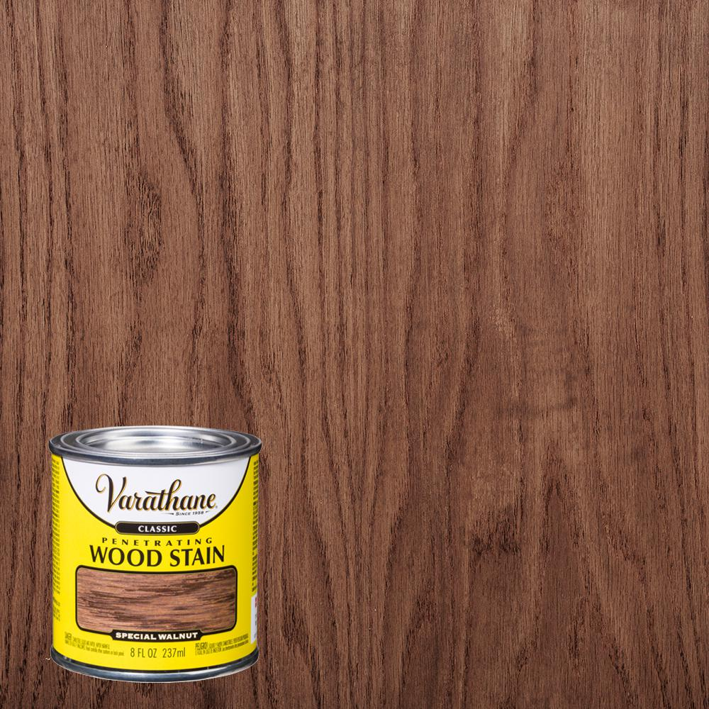 Varathane 8 Oz Special Walnut Clic Wood Interior Stain 4 Pack