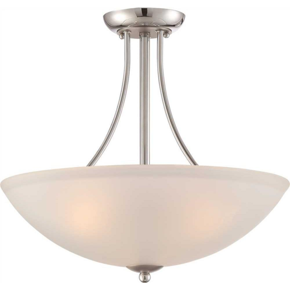 Monument 3-Light Polished Chrome Pendant was $99.49 now $53.0 (47.0% off)