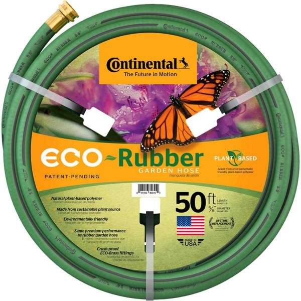 Unbranded Continental Eco Rubber 5 8 In X 50 Ft Garden Hose 21095087 The Home Depot