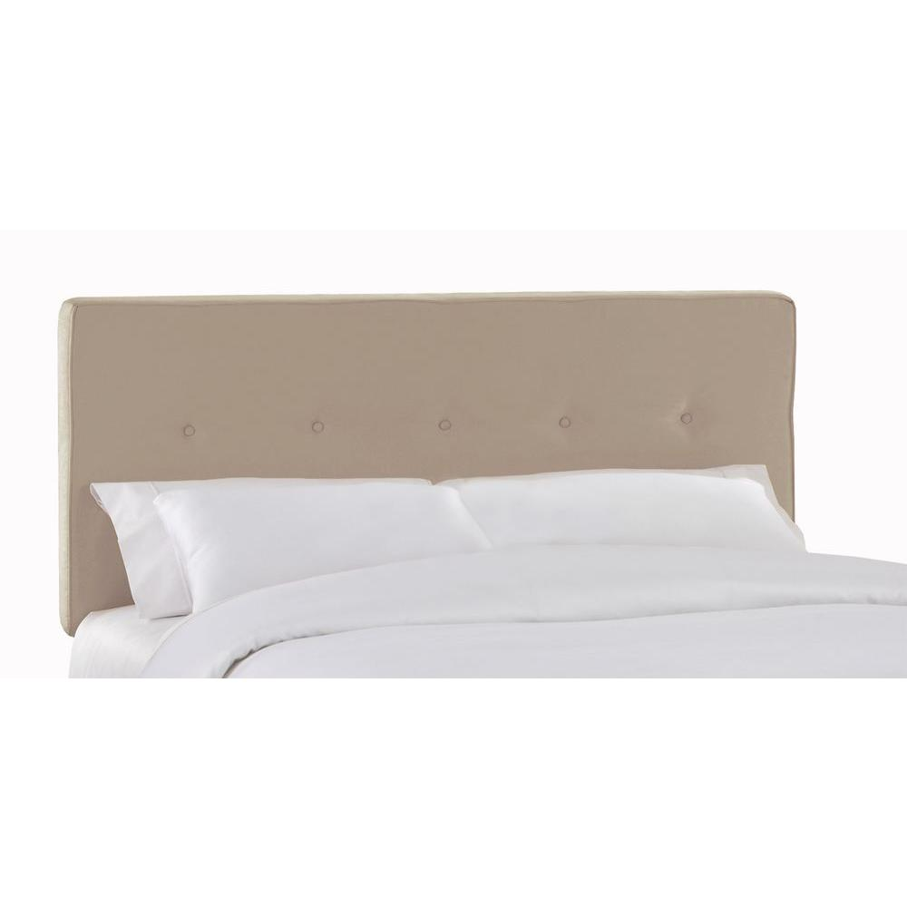 Home Decorators Collection Soho Oatmeal Twin Headboard 680poat The Home Depot