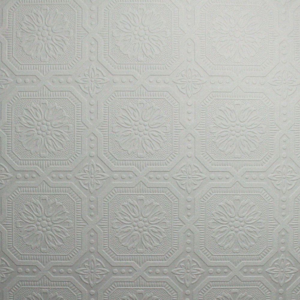 Small Squares Wallpaper Vinyl Peelable Wallpaper (Covers 56 sq. ft.)