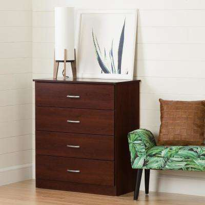 Libra 4-Drawer Royal Cherry Chest