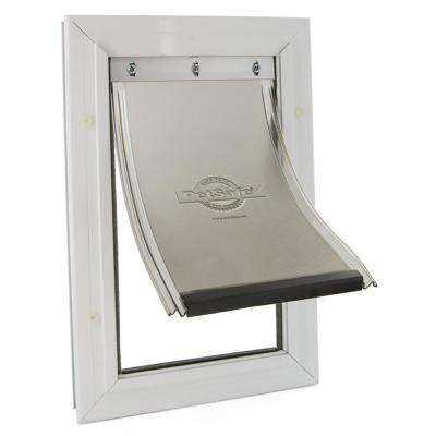 10-1/4 in. x 16-1/4 in. Large Freedom Aluminum Pet Door