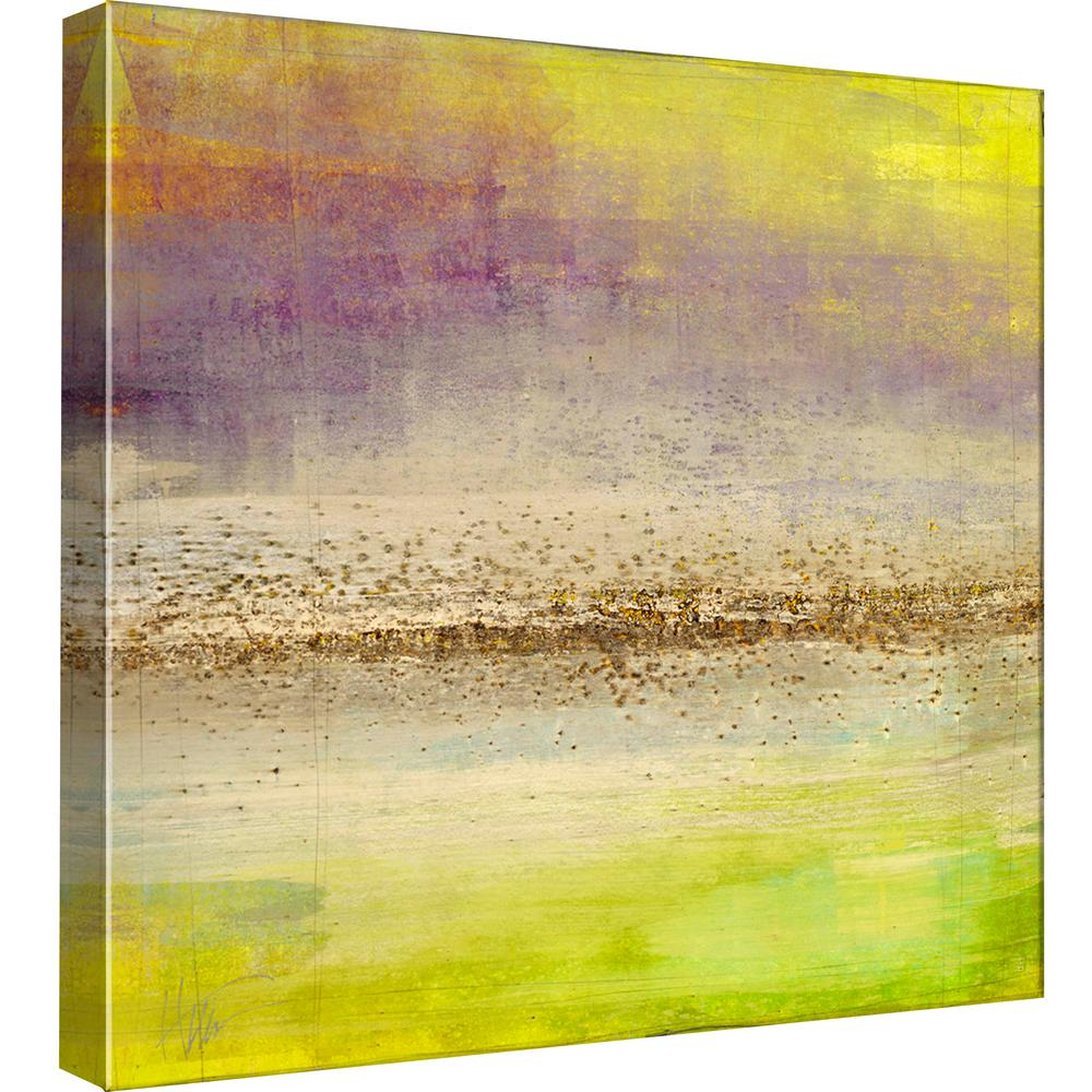 PTM Images 15.in x 15.in \'\'Refraction Horizon 1\'\' Printed Canvas ...