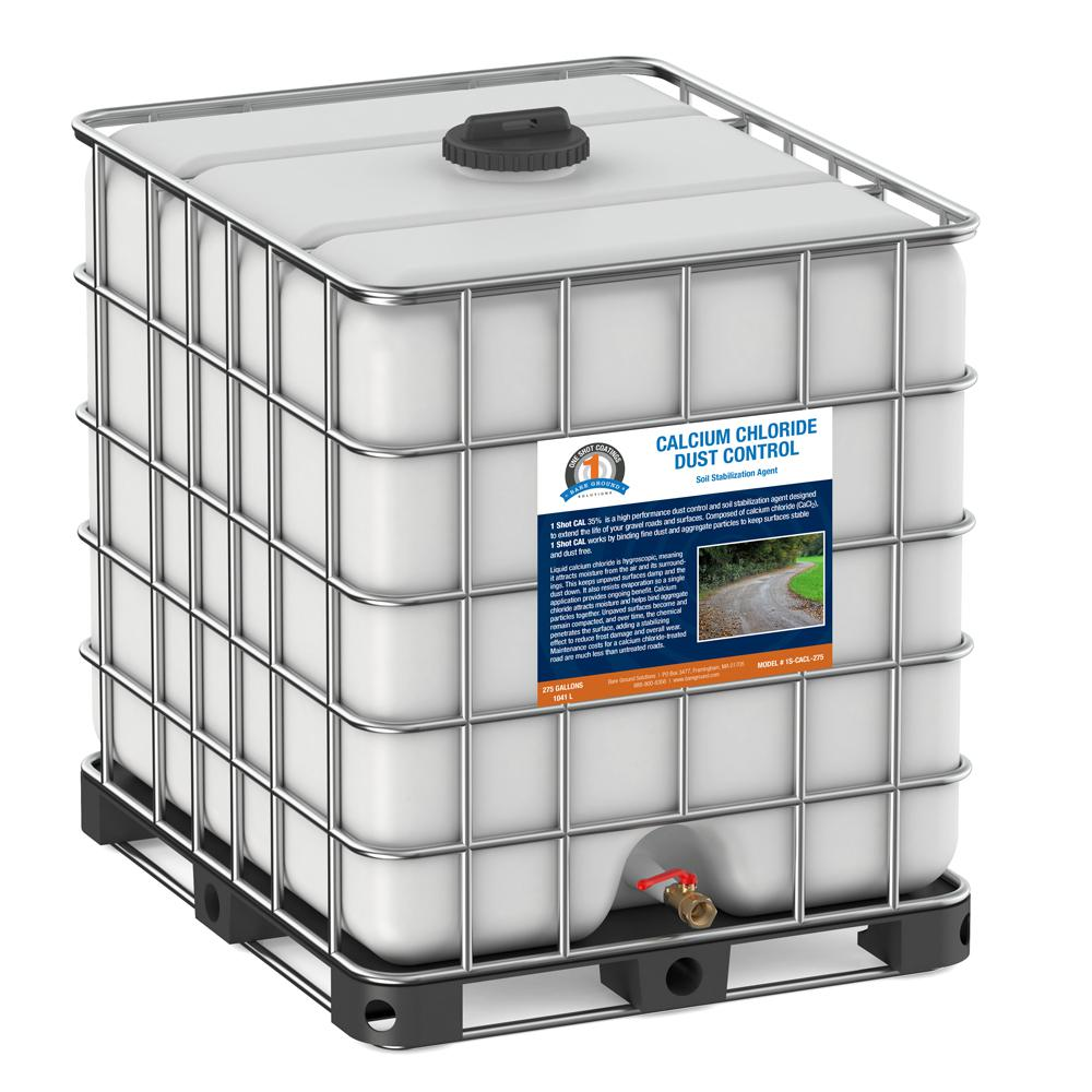 275 Gal  Tote of Calcium Chloride for Dust Control