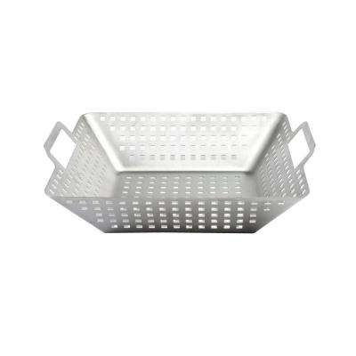 Stainless Square Wok - Large