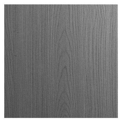 12x12 in. Cabinet Door Sample in Miami Rustic Gray
