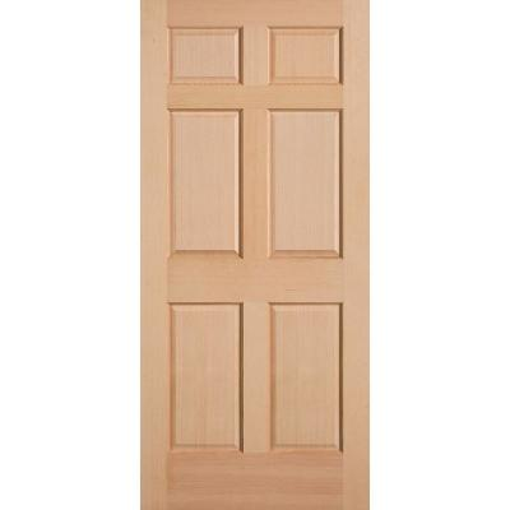 Single Door Wood Doors Front Doors The Home Depot