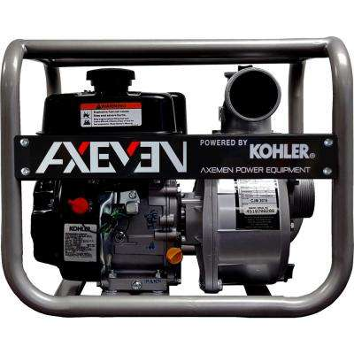 6 HP 3 in. Portable Gasoline with KOHLER Engine Water Pump